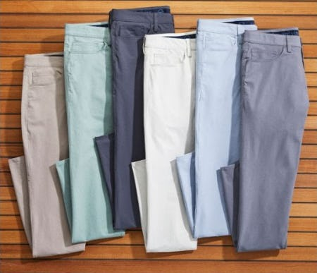 The Pants Guys Need for Fall: Performance On-The-Go 5-Pocket Pants