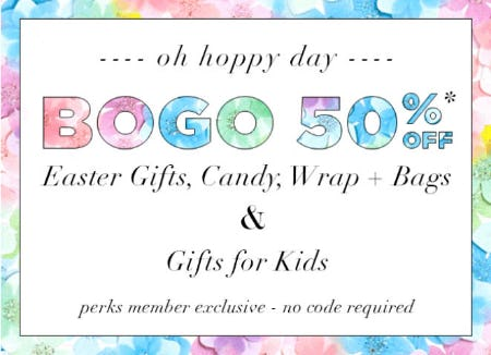 BOGO 50% Off Easter Gifts, Candy & More from PAPYRUS