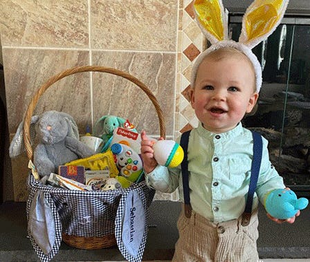 The Sweetest Easter from Pottery Barn Kids