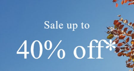 Sale Up to 40% Off from Abercrombie & Fitch