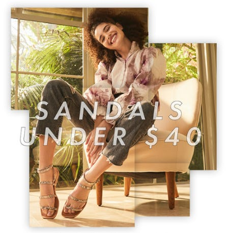 Sandals Under $40 from DSW Shoes