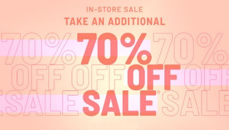 Additional 70% Off Sale from Forever 21
