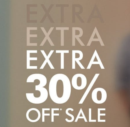 Extra 30% Off Sale from Banana Republic