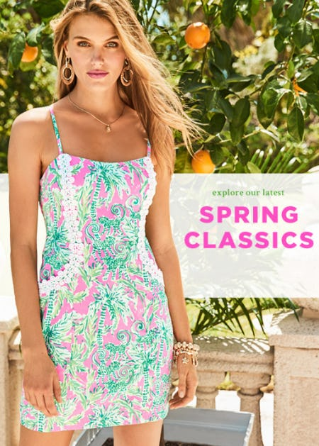 Just Dropped: New Arrivals for Spring from Lilly Pulitzer