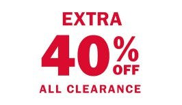 Extra 40% Off All Clearance from Old Navy