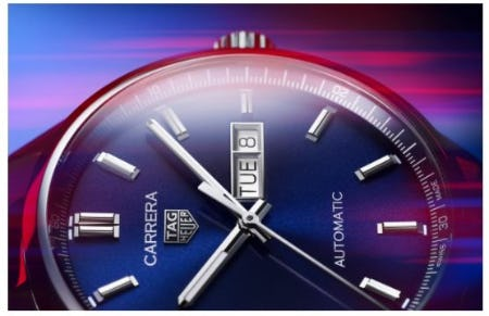 The New TAG Heuer Carrera Is Here