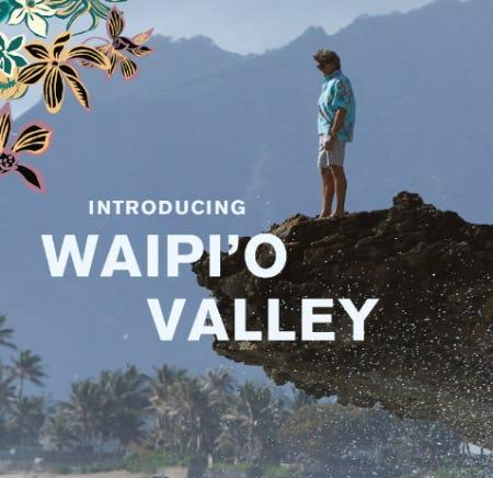 Introducing WAIPI'O VALLEY from Reyn Spooner
