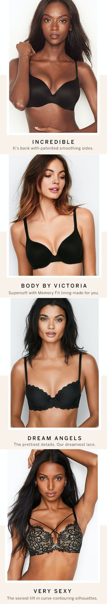 The Bras of Summer and Beyond from Victoria's Secret