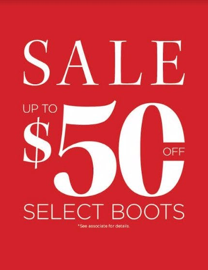 $50 Off ABEO Boots