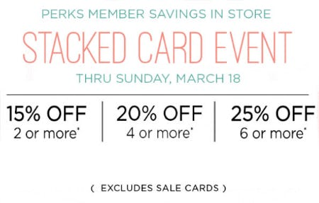 Stacked Card Event from PAPYRUS