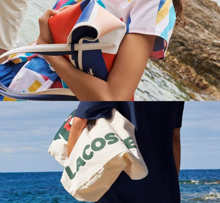 A Place in the Sun Collection from Lacoste
