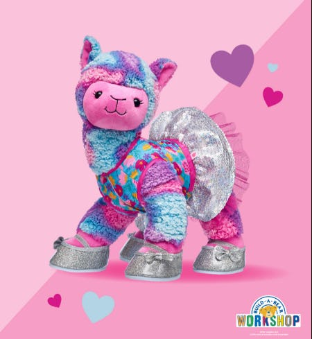 Have You Herd? Llovable Llama Has Strutted into Build-A-Bear Workshop!