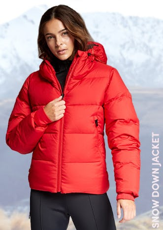 Snow Down Jacket from Athleta