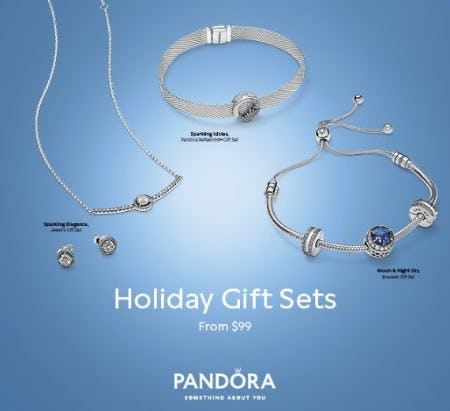 Pandora Holiday Gift Sets from $99