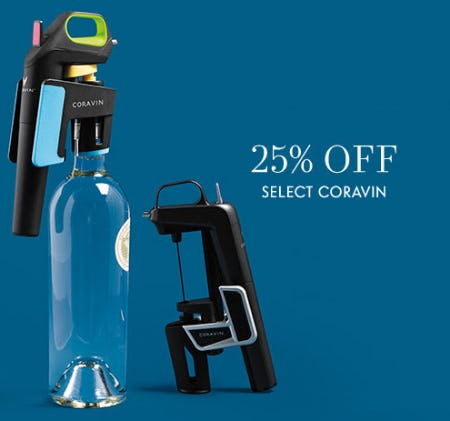 25% Off Select Coravin from Neiman Marcus