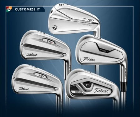 New Iron Sets from Golf Galaxy
