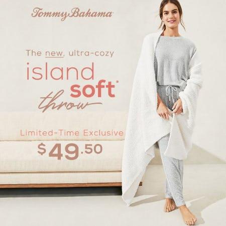 Island Soft® Throw - $49.50