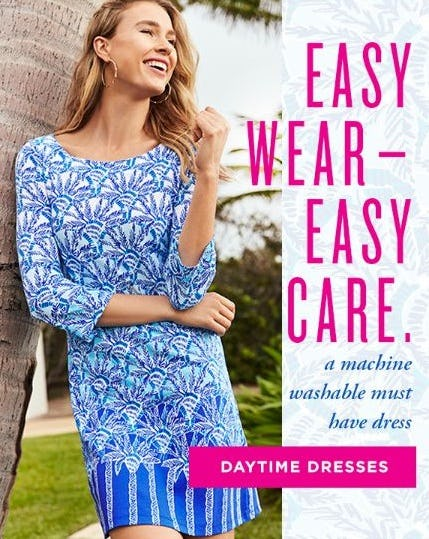 Easy-Wear Daytime Dresses from Lilly Pulitzer