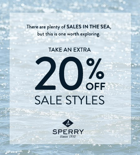 SHOP OUR PRESIDENT'S DAY SALE from Sperry Top-Sider
