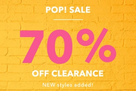 70% Off Clearance from Aerie