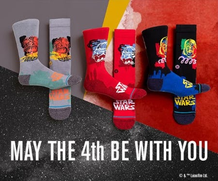 New Star Wars x Stance from STANCE