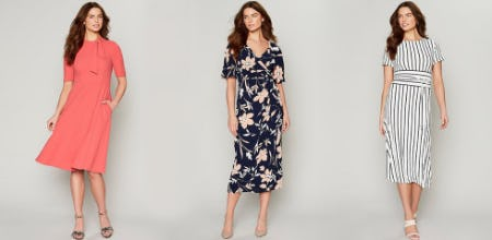 Meet our Sprig-Ready Dresses