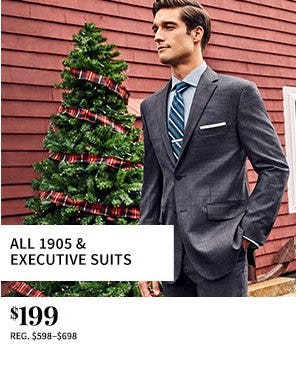 All 1905 & Executive Suits $199 from Jos. A. Bank