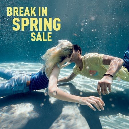 Break In Spring Sale from Aéropostale
