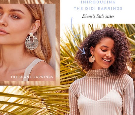 Introducing The Didi Earrings