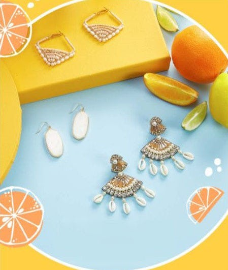 New Earrings for Summer from Versona
