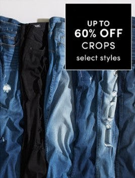 Up to 60% Off Crops from Torrid