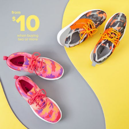 $10 Sneakers When Buying 2 or More from Rainbow