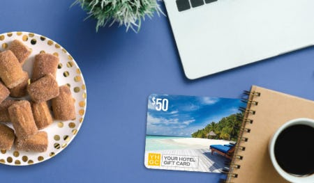 $50 Hotel Gift Card with $100+ in Pretzels from Auntie Anne's