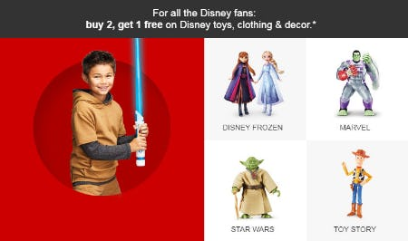 B2G1 Free Disney Toys, Clothing & Decor from Target
