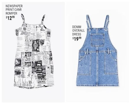 New Dresses for Little Girls from Forever 21