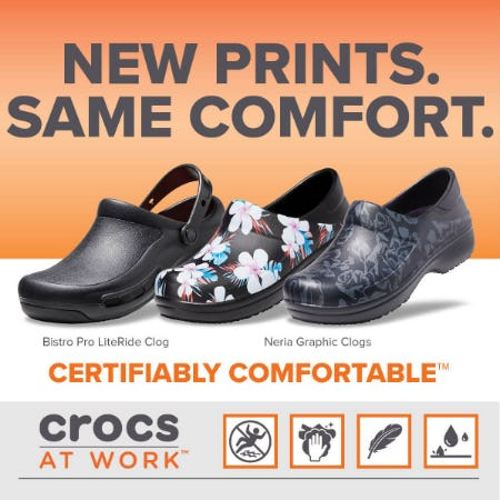 Save $15 off your purchase of $75! from Crocs