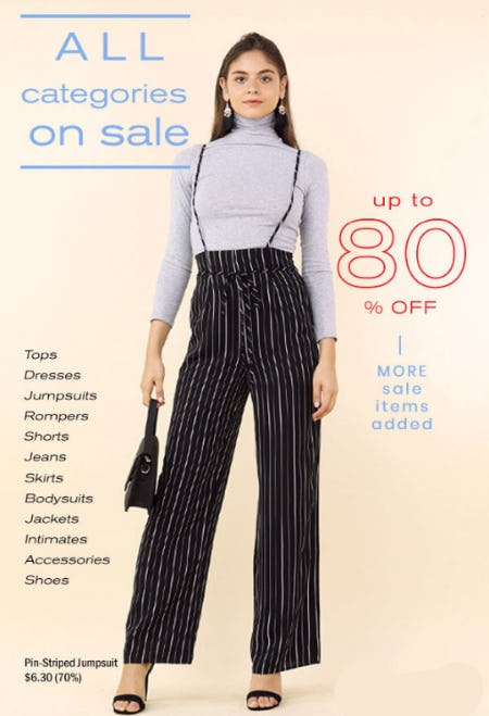 Up to 80% Off Sale from Papaya