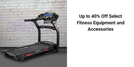 Up to 40% Off Select Fitness Equipment & Accessories from Dick's Sporting Goods
