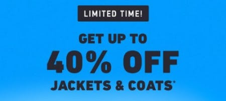 Get up to 40% Off Jackets & Coats from Hollister Co.