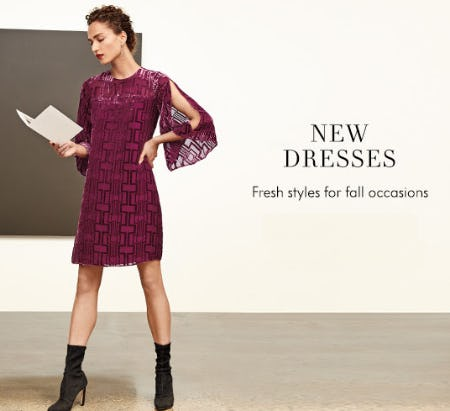 Our New Dresses