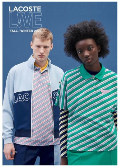 New Lacoste L!VE from Lacoste