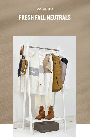 Women's Fresh Fall Neutrals