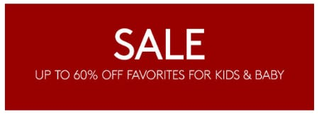Up to 60% Off Favorites for Kids & Baby from Pottery Barn Kids