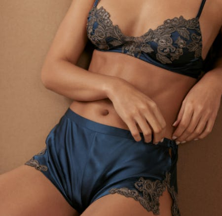 Maison in Blue from La Perla
