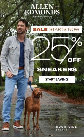 25% Off Sneakers