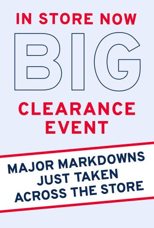 Big Clearance Event from Marshalls