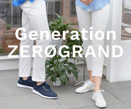 New Generation ZERØGRAND from Cole Haan