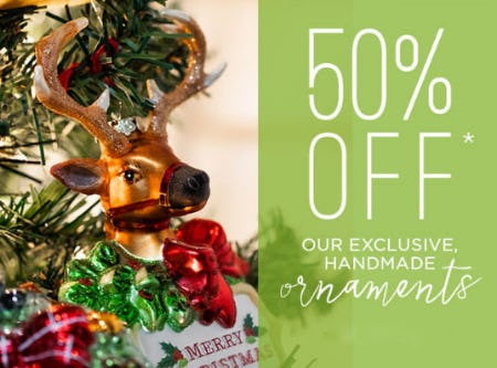 50% Off Ornaments from PAPYRUS