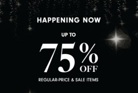 Up to 75% Off Regular-Price & Sale Items from Neiman Marcus