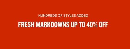 Fresh Markdowns Up to 40% Off from JD Sports
